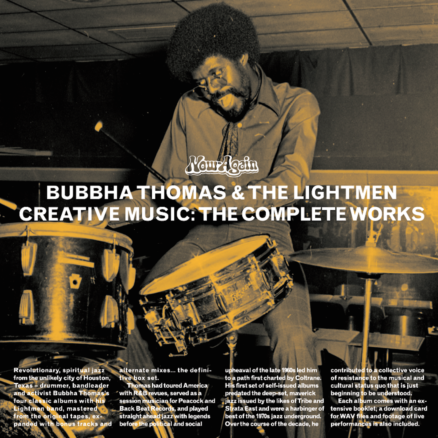 Bubbha Thomas & The Lightmen Plus One – Creative Music: The Complete Works