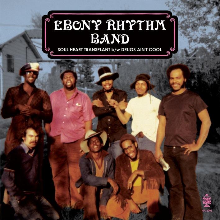 Ebony Rhythm Band – Soul Heart Transplant/Drugs Ain't Cool 12″
