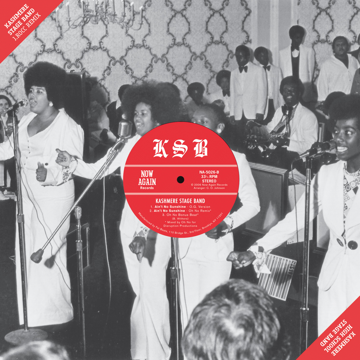 Kashmere Stage Band – Ain't No Sunshine (The J.Rocc and Oh No Remixes)