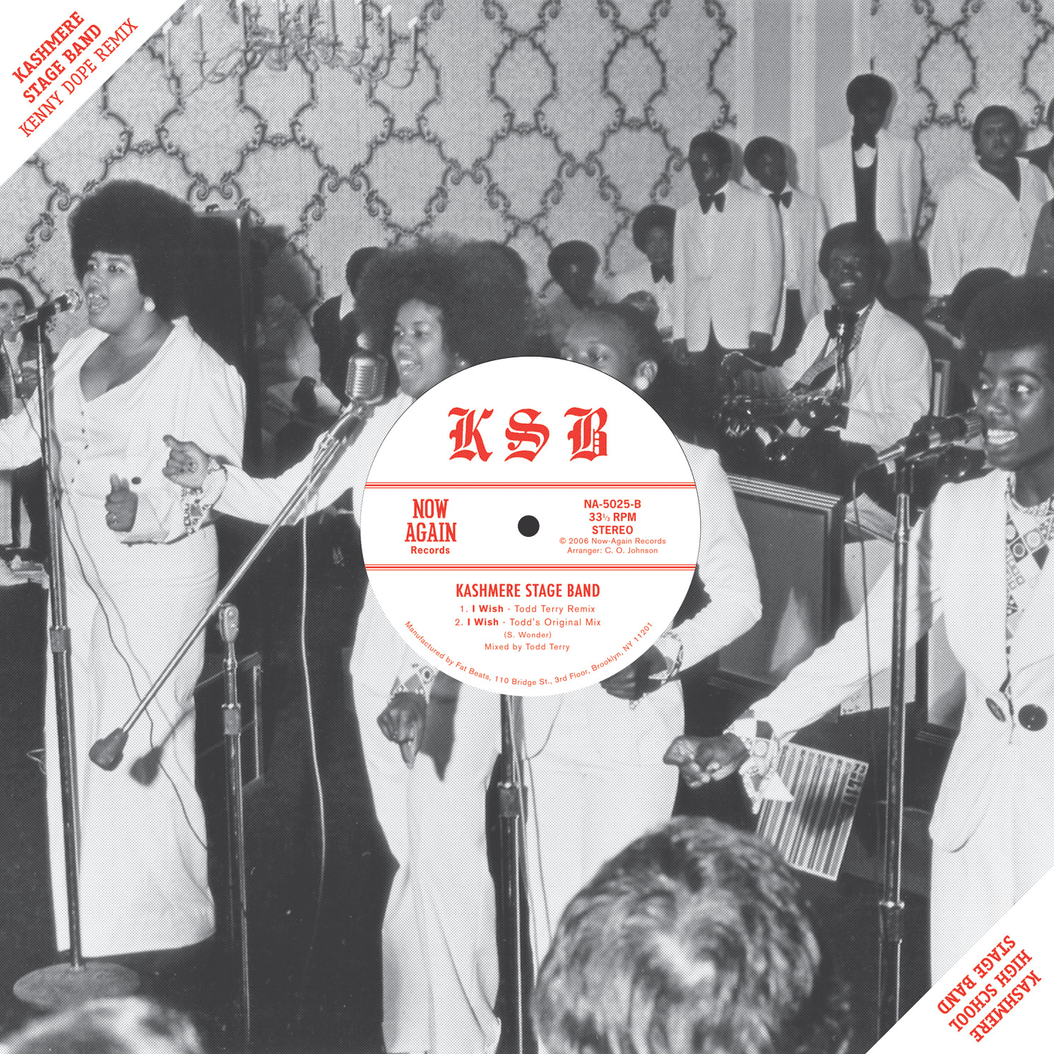 Kashmere Stage Band – Super Strut/I Wish (The Kenny Dope and Todd Terry Remixes)