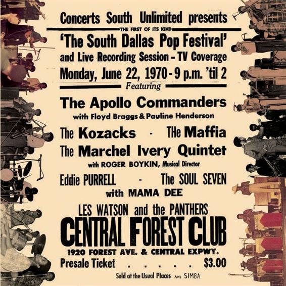 Various – South Dallas Pop Fest 1970